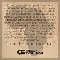 Ubuntu - I AM, because WE ARE <3 https://www.facebook.com/LifePHOTOGRAPHER