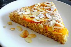 SUGARTOWN: Obrácený pomerančový koláč s mandlemi, Amarettem a kapkou vody z pomerančových květů