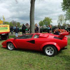 A stunning Lamborghini Countach