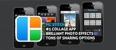 Want to throw together a quick collage of a few photos? Look no further than Pic Stitch for a quick result!