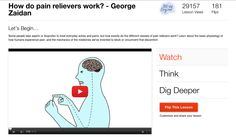 Il mistero della percezione del dolore / The mistery of pain perception (Videos from TEDEd)