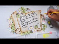 Flores Silvestres em Tecido (Aula 86) - YouTube