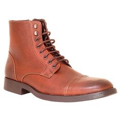 Men's Resolve Edge Combat Boots - Brown