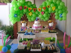 Sophia's birthday Rio theme party!!!