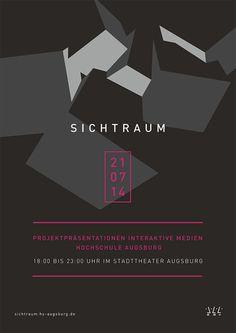 SICHTRAUM: Studiengang Interaktive Medien der Hochschule Augsburg zeigt Arbeiten im Stadttheater   Slanted - Typo Weblog und Magazin