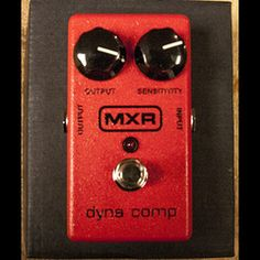 MXR Dyna Comp   Pedals and Effects Available at Garrett Park Guitars   www.gpguitars.com