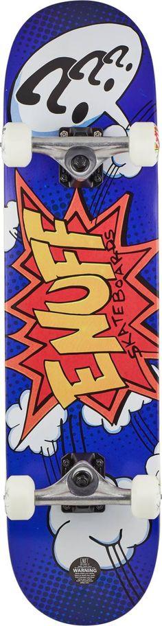 Enuff POW Skateboard Komplettboard | SkatePro Skateboard, Pow, Bunt, Spiderman, Superhero, Anastasia, Fictional Characters, Filmmaking, Random Stuff