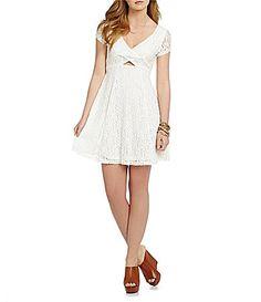 Jessica Simpson Kaitlee Lace Dress #Dillards