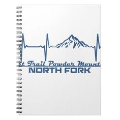 #Lost Trail Powder Mountain  -  North Fork - Idaho Notebook - #office #gifts #giftideas #business