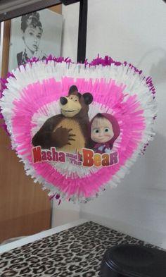 Masha and the Bear pinata