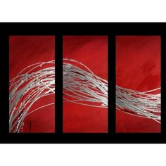 Image result for three piece abstract art