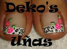 Uñas Pedicure Nail Art, Pedicure Designs, Toe Nail Designs, Toe Nail Art, Diy Nails, Hello Nails, Pretty Pedicures, Feet Nails, Toenails