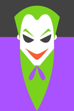 Re Vision Pop culture icons by Forma & Co with DC Comics The Joker