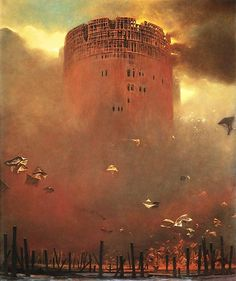 Zdzislaw Beksinski Gallery: The 1982's surreal masterpieces
