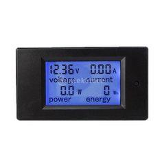 """Waterproof Digital Voltmeter Battery Meter Panel 15-80VDC 0.56/"""" Red LED"""