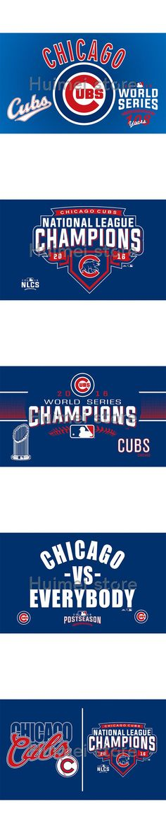 2016 world series champions Chicago Cubs Flag 3x5 FT 150X90CM MLB Banner 100D Polyester Custom flag