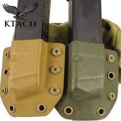 OWB Pistol Mag Carriers #kydex pistol-mag-carriers also has done some in #kryptek and #atacs #magcarrier #glock #9mm #firearms