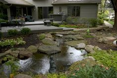 Aquascape Your Landscape: Every Deck Needs a Pond