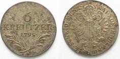 1795 Haus Habsburg AUSTRIA 6 Kreuzer 1795 A FRANZ II silver XF/XF-UNC!!! # 95120 EF/EF-UNC
