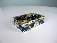 Antique Candy Dish  JW Co Staffordshire England  by MustyMusts, $47.00