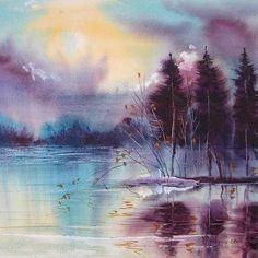 Veneta Docheva #watercolor #painting