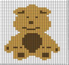 Tricksy Knitter Charts: BabyBookBear