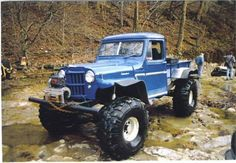 Jeep Pickup with extra rubber