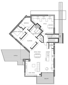 Home and office floor plan