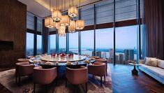 Park Hyatt Hangzhou in Hangzhou - Best hotel rates - Vossy Restaurant Plan, Restaurant Design, Chinese Restaurant, Miami Beach, Hotel Inn, House Furniture Design, Dining Room Table Decor, Luxury Dining Room, Fuller House