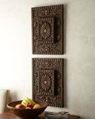 Etched Wood Wall Decor
