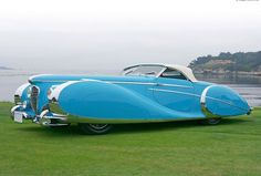 The Delahaye, the most beautiful car in the world.