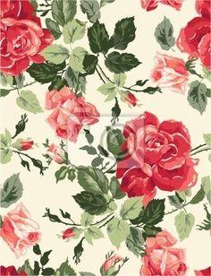 """Naklejki """"liść, romantyczny, Miłość - fantazyjne wzrosła tapety"""" ✓ Prosty montaż ✓ 365 dni na zwrot ✓ Zobacz inne wzory z tej kolekcji!"""