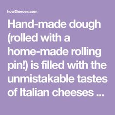 Hand-made dough (rolled with a home-made rolling pin!) is filled with the unmistakable tastes of Italian cheeses and meats. The entertaining duo of Carla and Christine Pallotta of nebo restaurant in Boston's North End, share this traditional Easter dish that's one of their cherished family recipes.