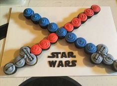 New Cupcakes Star Party Junge Geburtstag wars Ideen, Source by Our Reader Score[Total: 0 Average: Related photos:Star Wars Canvas Star Wars Baby, Star Wars Kids, Regalos Star Wars, Star Wars Cupcakes, Party Cupcakes, Star Wars Birthday Cake, Boy Birthday Cupcakes, Cupcakes For Boys, Aniversario Star Wars