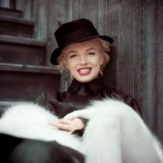 "dailyaudrey: ""Marilyn Monroe photographed by Milton Greene, 1954. """