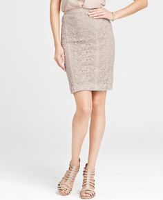Tall Ornate Vintage Lace Pencil Skirt <3 this!