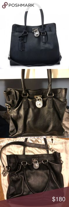 d8f9d6571a Michael Kors Hamilton Tote Gently used. Probably only used about 4 times.  Bag comes