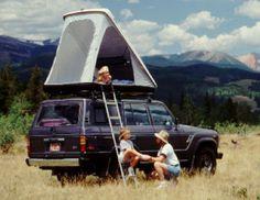 USA Made Roof Top Tent - Top Bunk by Calorado Camper Van