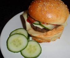 Rezept Hamburger-Brötchen, die Besten! von Rosemaria - Rezept der Kategorie Brot & Brötchen