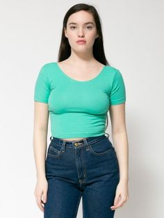 Lounging Cropped Tee