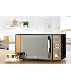 Digital Microwave Breville 20 Litre Bronze LED Display Kitchen Electrical *NEW* Countertop Materials, Power Led, Microwave Oven, Countertops, Home And Garden, Copper, Kitchen Appliances, Bronze, Display