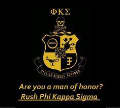 #RUSH Phi Kappa Sigma