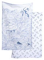 Deep Sea Odyssey Dish Towel Set at PLASTICLAND