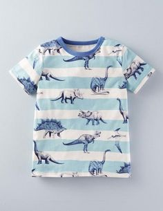 ac688c4be5379 Mini Boden dinosaur boys' printed t-shirt Baby Boy Outfits, Toddler Outfits,