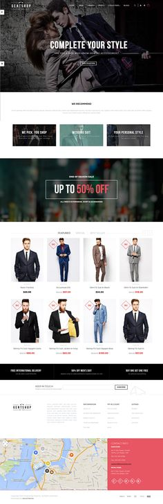 Ves GentShop is an new premium #Magento Theme suitable for multipurpose #eCommerce #website.
