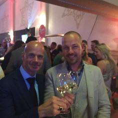 Samen met Richard Rijnbeek (Artu Napoli Breda)