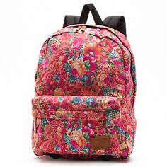 QUCB8I - Multi Floral Deana Backpack