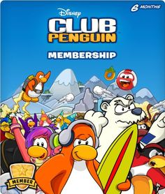 Easy gift idea! Disney Club Penguin Membership