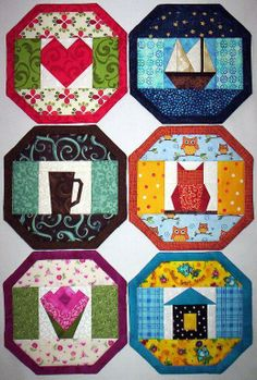 Mug Rug-24 ... by Doodle Time | Quilting Pattern