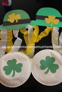 Toddler Tuesday! St. Patrick's Day Crafts! - Minnesota Mama's Must Haves